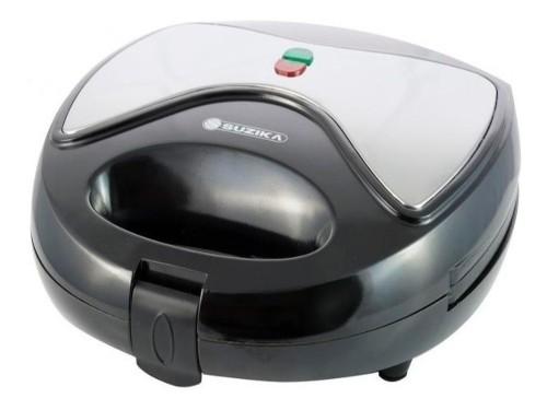 Sandwichera Electrica Acero Inox Pan Tostadora Suzika Sd-014