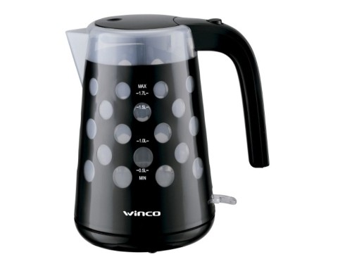 Jarra Pava Electrica 1,7 Litros Cafe Te Winco W78 Luces Led