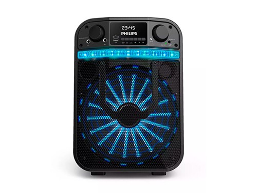 """PARLANTE BLUETOOTH 40W RMS WOOFER 10"""" CARRO BATERÍA 7HS LUCES PHILIPS"""