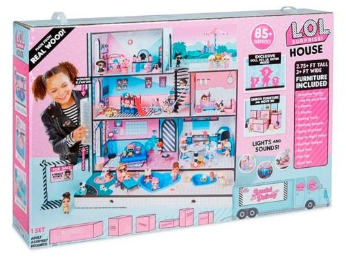 Lol Surprise Casa Con Más De 85 Sorpresas 555001
