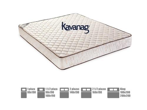 Colchón de espuma alta densidad premium 5 años de garantía Kavanag