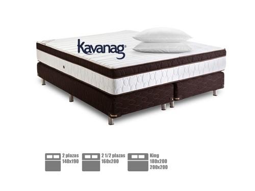 Colchón sommier  espuma alta densidad + 5 años de garantía Kavanag