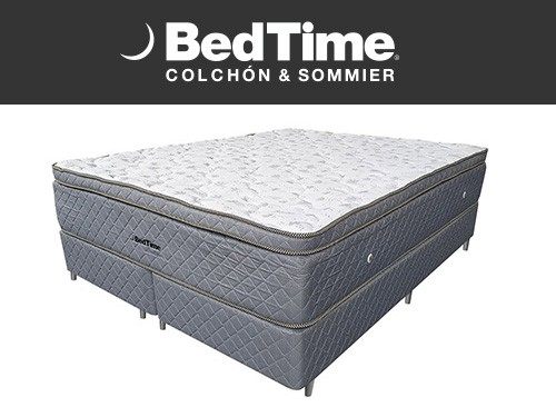 Sommier y Colchon Alive King 200x200 Bedtime