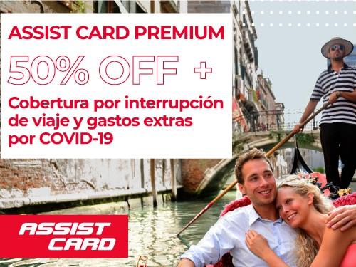 ASSIST CARD Premium + Cobertura x Interrupción y Gastos COVID-19
