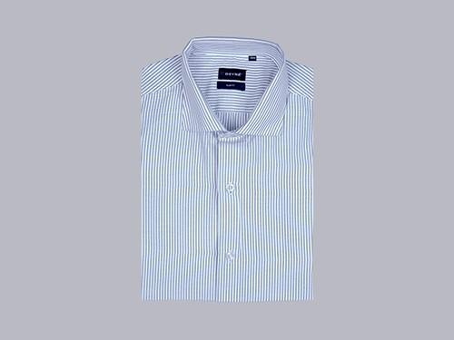 Camisa Rayada Slim Fit