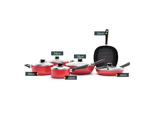 Bateria de Cocina 11 Piezas Mica