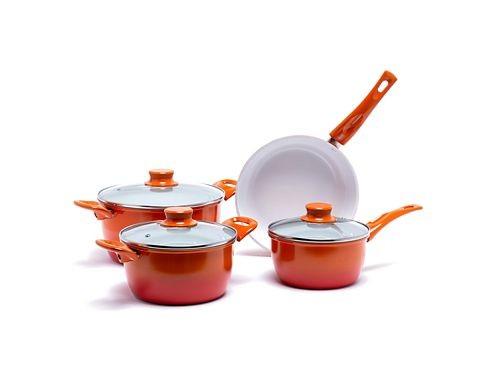 Bateria de Cocina 7 Piezas ceramica  Mica