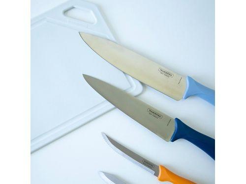 Sex5 cuchillos con tabla Tramontina