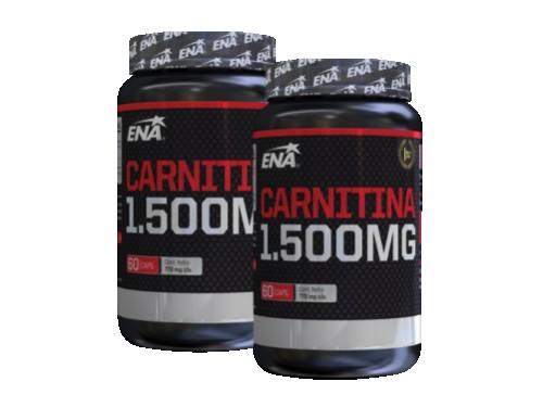 Quemador de Grasa Carnitina 1500mg 60 cápsulas ENA