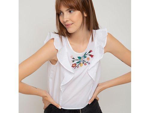 Sybilla blusa bordada