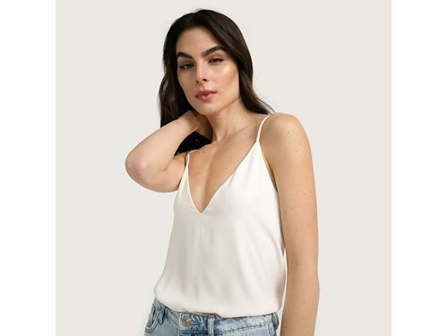 Basement blusa cuello en V