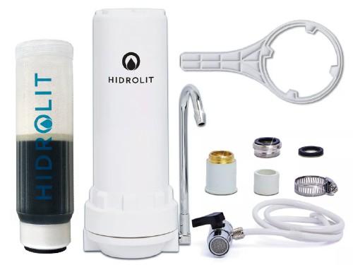 Purificador de agua sobre mesada para Arsénico, Metales y Cloro