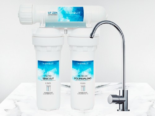 Purificador Agua Elimina Bacterias Virus Arsénico Cloro Metales