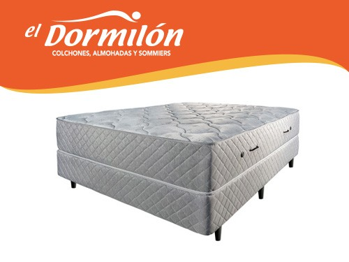 Sommier y Colchon 2 Plazas 140x190 Greyland El Dormilon