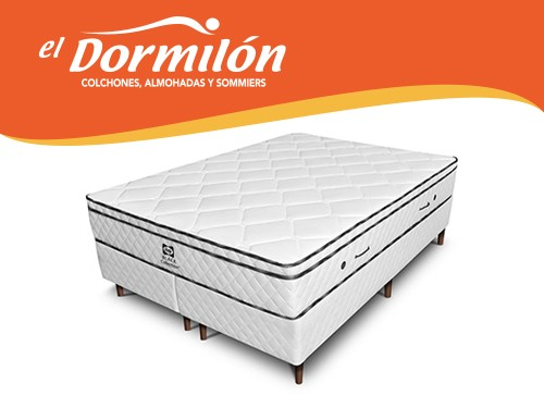 Sommier y Colchon Queen 180x200 Rome Sealy
