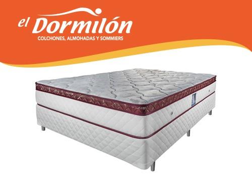 Sommier y Colchon 2 Plazas 140x190 Serie 01 El Dormilon