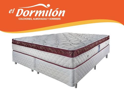 Sommier y Colchon King 200x200 Serie 01 El Dormilon