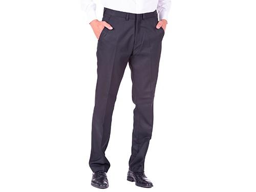 Pantalón de Vestir Entallado sin Pinzas