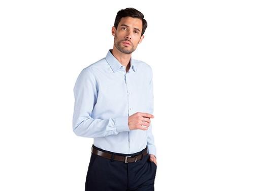 Camisa de Vestir Estampada Slim Fit