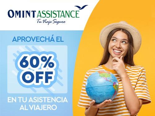 Asistencia de viaje, Cobertura Covid, 60% OFF y viajá a Miami EEUU