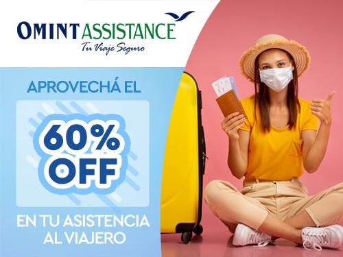 60%OFF en Asistencia de viaje, Cobertura COVID, ideal Miami EEUU
