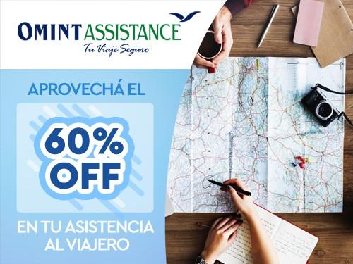 60%OFF en Asistencia de viaje, Cobertura COVID, ideal Brasil