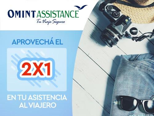 2x1 en Asistencia de viaje, Cobertura COVID USD 30000, ideal Brasil