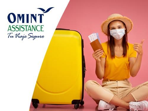 Asistencia de viaje EUR 45000, Cobertura COVID, ideal viajes a Dublín