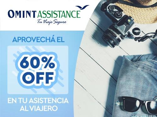 60%OFF en Asistencia de viaje, Cobertura COVID, ideal Madrid Europa