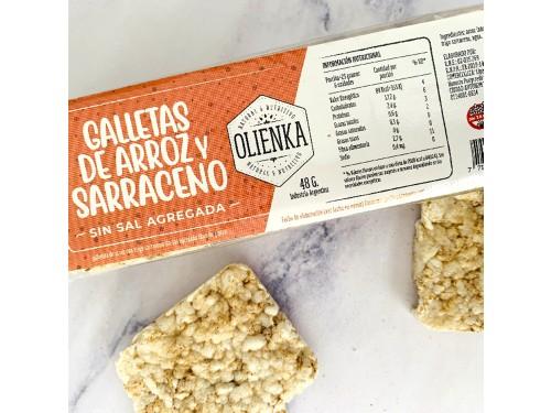 Galletas de Sarraceno y Arroz - Caja Variedad x18u