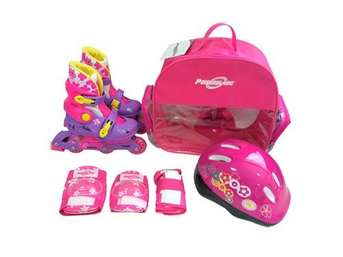 Rollers Extensibles 129 Niños Kit Mochila Protecciones