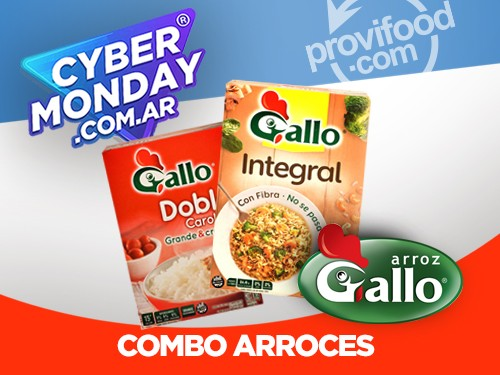 COMBO ARROCES - INTEG + DOBLE CAROL - 2 KGS - GALLO