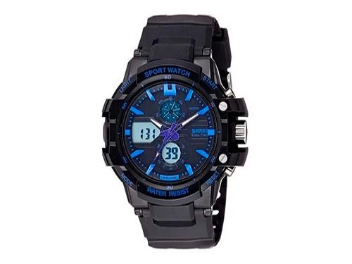 Reloj Skmei Hombre Mujer Deportivo Sumergible 990 Cronometro
