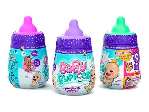 Baby Buppies Bebe Interactivo Sorpresa + Acc Coleccionables