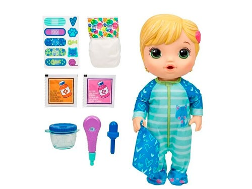 Muñeca Baby Alive Mix My Medicine All Better Baby E69275w00