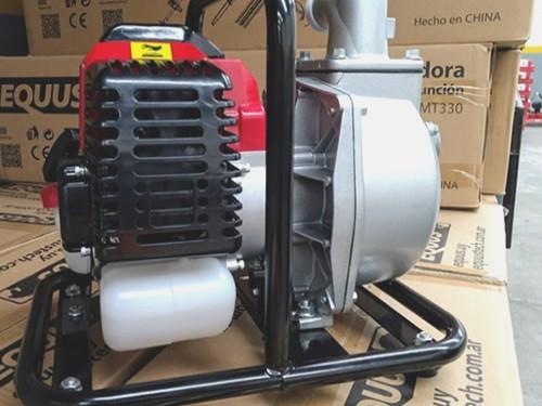 Motobomba De Agua Limpia Motor 2 Tiempos 1,5 Pulgadas 52cc Equus