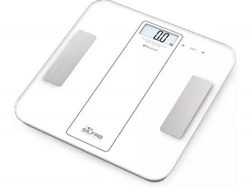 Balanza Digital Silfab Bluetooth Baño Multifuncion 180kg