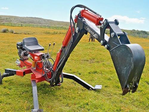 Mini Retroexcavadora con enganche - Pala Mecánica 10 hp Equus
