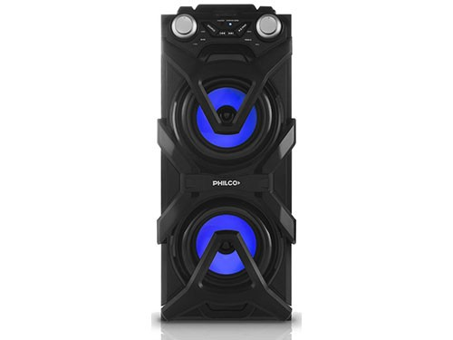 PARLANTE PORTATIL DJP11 500W LUCES Bluetooth PHILCO