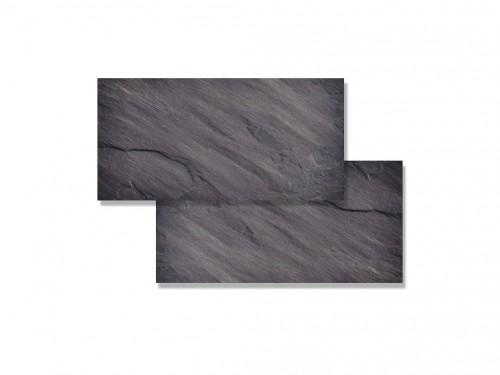 Piedra Ardosia Natural 15x30 Negra (m²)