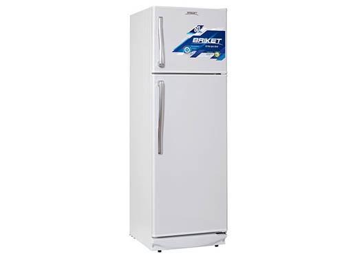 Heladera con freezer Blanca 290lts Briket