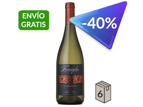 Famiglia Bianchi Chardonnay. Caja x 6. 750 ml.