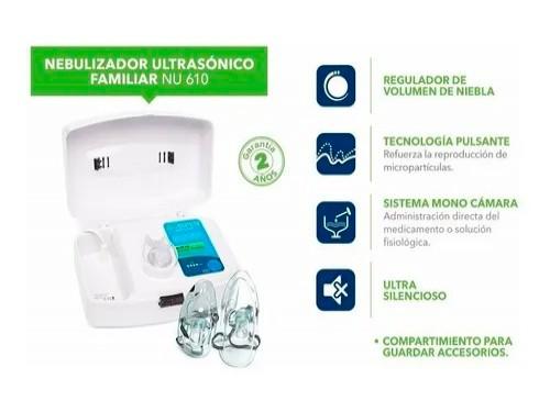 Nebulizador Ultrasonico Digital Aspen 220v Familiar Original