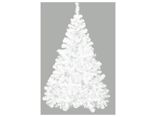 Árbol De Navidad Premium Blanco Pie Metal 1,80 Mts Cybermonday Sheshu