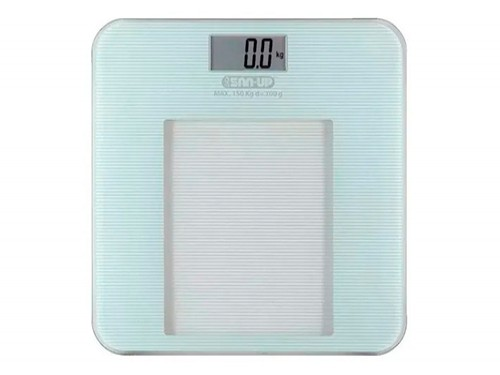 Balanza Digital San Up Baño De Vidrio Display Lcd 150kg Orig