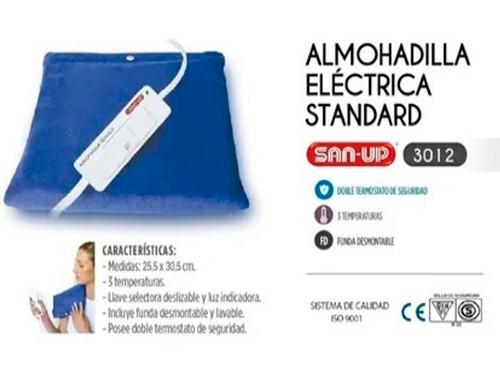 Almohadilla Electrica San Up Standard 3 Temperaturas Con Luz
