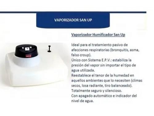 Vaporizador San Up Humificador Con Nivel Epv Ambiental