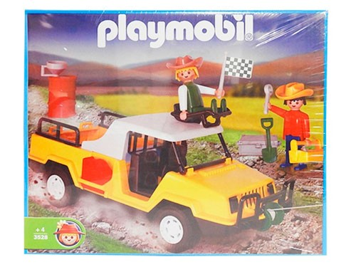 Playmobil Camioneta Aventura Linea Nacional 3528