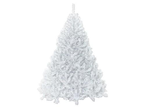 Arbol De Navidad Extra Lujo Bariloche Blanco 1,80 M Cybermonday Sheshu