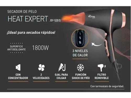 Secador De Pelo Silfab Heat Expert 1800w Secado Rápido Frio